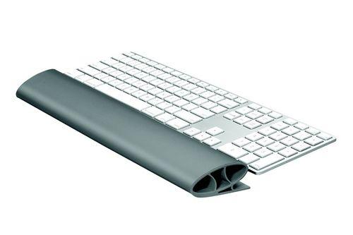 """Opierka zápästia ku klávesnici, silikónová, FELLOWES """"I-Spire Series™"""", grafitovo sivá"""