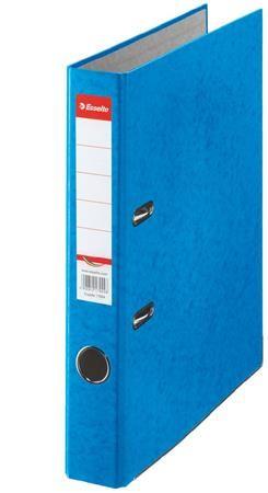 """Pákový šanón, 50 mm, A4, kartón, ESSELTE """"Rainbow"""", modrý"""