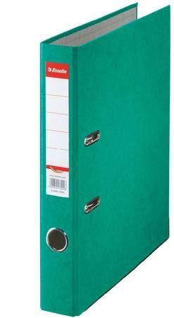 """Pákový šanón, 50 mm, A4, kartón, ESSELTE """"Rainbow"""", zelený"""