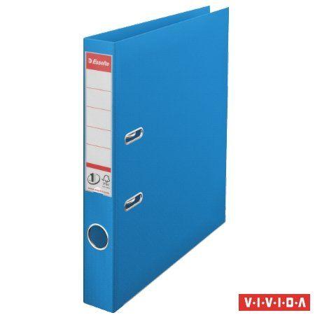 """Pákový šanón, 50 mm, A4, PP, s ochranným spodným kovaním, ESSELTE """"Standard"""", Vivida modrý"""