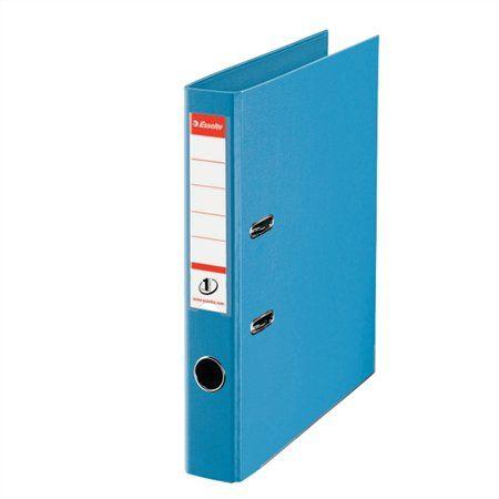 """Pákový šanón, 50 mm, A4, PP/PP, s ochranným spodným kovaním, ESSELTE """"Standard"""", modrý"""