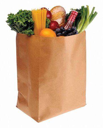 Papierová taška, 50 kg, 55x87 cm