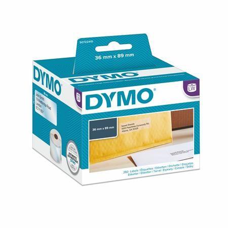 Páska s etiketami ku DYMO EL60 veľká, priehľadné,