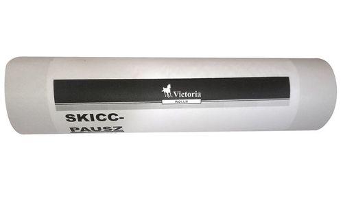 Pauzovací papier, rolka, 840mm x 100m, VICTORIA