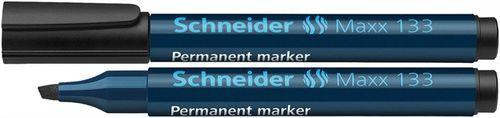 """Permanentný popisovač, 1-4 mm, zrezaný hrot, SCHNEIDER """"Maxx 133"""", čierny"""
