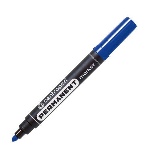 Permanentný popisovač Centropen 8566 modrý