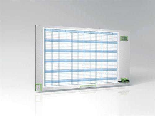 """Plánovacia tabuľa, ročná, smaltovaná, 60x110 cm, NOBO """"Performance Plus"""""""