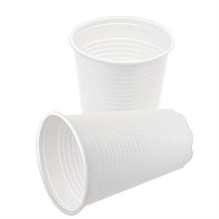 Plastový pohár, biely, 2 dl