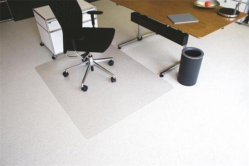 """Podložka na koberec, tvar E, 120x150 cm, """"Ecoblue"""""""