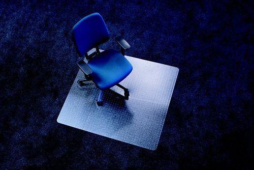 """Podložka na koberec, tvar E, 90x120 cm, """"Ecoblue"""""""
