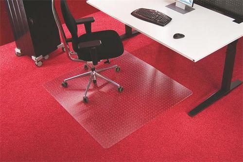 "Podložka na koberec v tvare ""E"", 150x120cm, RS OFFICE ""Roll-o-Grip"""