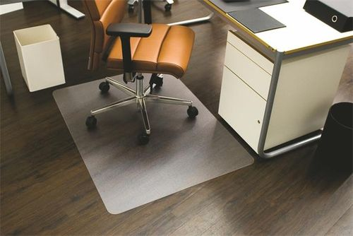 "Podložka na tvrdý povrch, tvar E, 120x150 cm, RS OFFICE ""Ecoblue"""