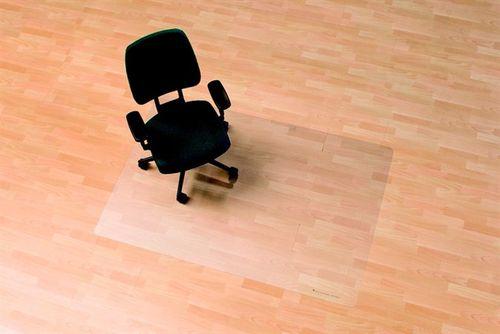 "Podložka na tvrdý povrch,tvar E, 75x120 cm,  RS OFFICE  ""Ecoblue"""