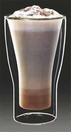 """Pohár na latte macchiato, dvojité sklo, """"Thermo"""" 34 cl"""