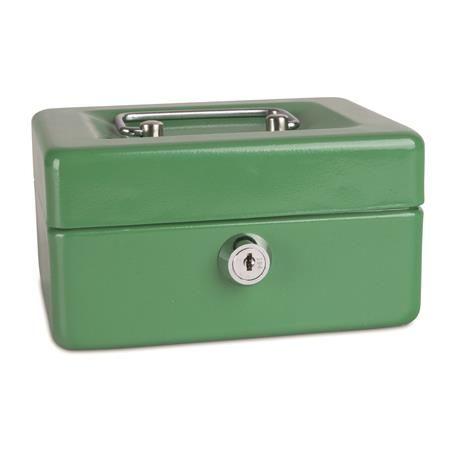 Pokladnička, 152 x 115 x 80mm, DONAU, zelená