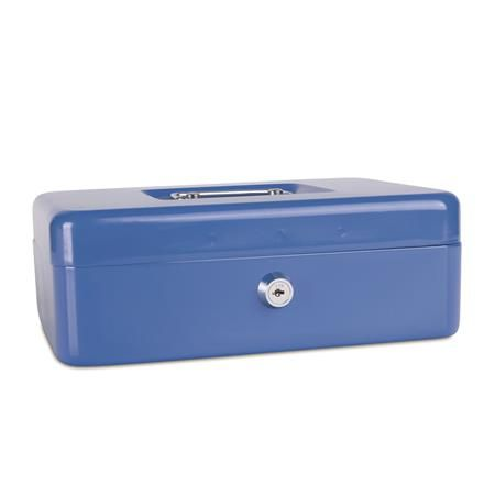Pokladnička, 25x18x9 cm, DONAU, modrá