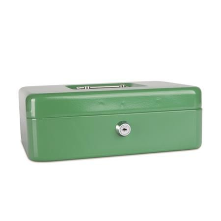 Pokladnička, 25x18x9 cm, DONAU, zelená