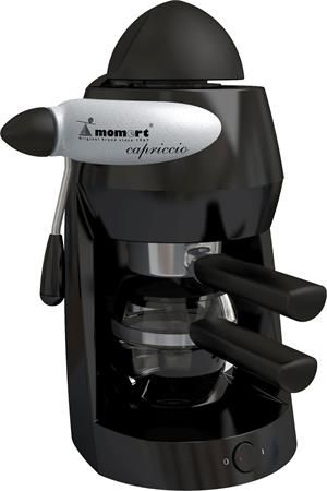 """Presso kávovar, MOMERT """"1160 Capriccio"""" čierna-sivá"""