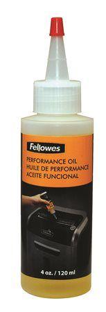 Prevádzkový olej pre skartovacie stroje, 120 ml, FELLOWES