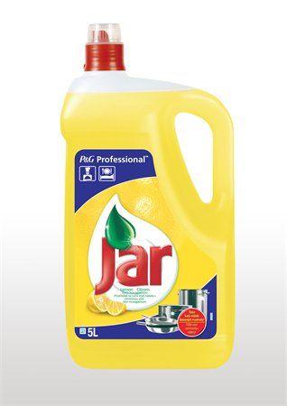Prostriedok na umývanie riadu, 5 l, JAR, citrón