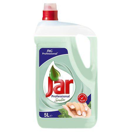 "Prostriedok na umývanie riadu, 5 l, JAR, ""Sensitive"" Tea tree&Mint"