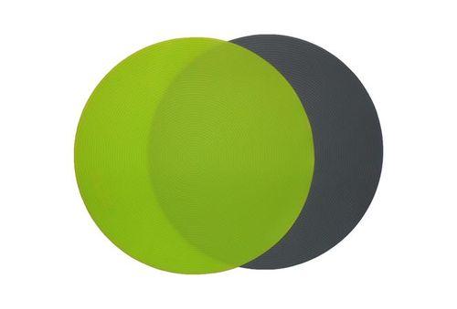Protišmyková podložka, okrúhla, gumená, (k tácke s okrajom), 30,5 cm, zelená