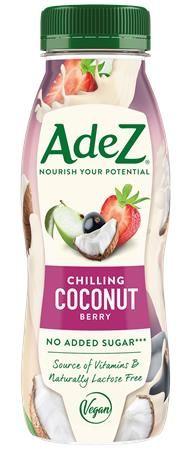Rastlinný nápoj, 0,25 l, ADEZ, kokos s ovocím