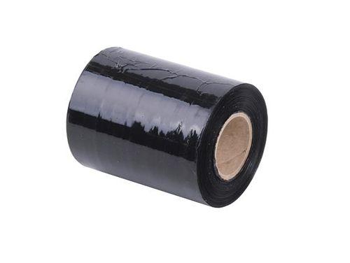 Ručná prieťažná fólia, čierna, 0,1m x 153m