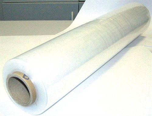 Ručná prieťažná fólia, priesvitná, 0,5 m