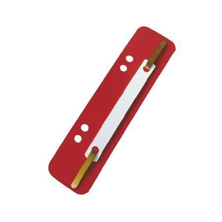 Rýchloviazacia lišta, PP, ESSELTE, červená