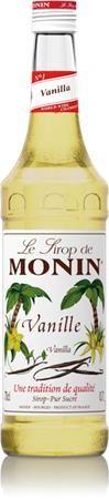Sirup, 0,7 l, MONIN, vanilkový