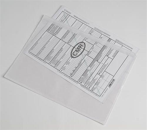 Sprievodné vrecko, C/4, 229x324 mm, samolepiace, 500 ks/bal