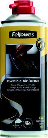Stlačený vzduch, otáčateľný, bez HFC,horľavý, 520 ml/200 ml, FELLOWES