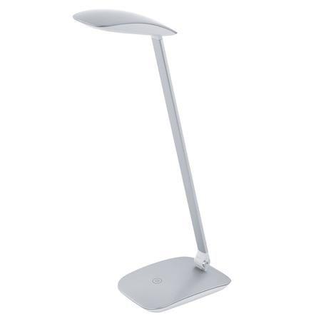 """Stolová lampa, LED 4,5 W, EGLO """"Cajero"""", strieborná"""