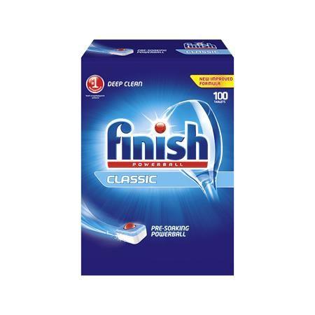 """Tablety do umývačky riadu, 100 ks, FINISH, """"Powerball Classic"""""""