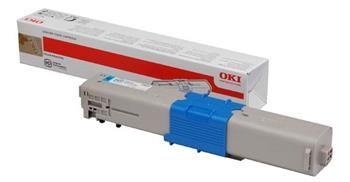 toner OKI C301/C321/MC332/MC342 cyan (1 500 str.)