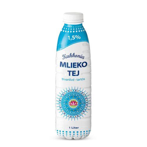 Trvanlivé mlieko Euromilk Žitnoostrovské polotučné 1l