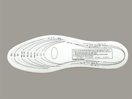 Vložky do topánok, pamäťová pena, strihateľné, veľkosť 36-46
