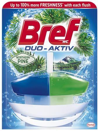 """WC čistiaci gél, 50 ml, BREF """"Duo Aktív"""", borovica"""