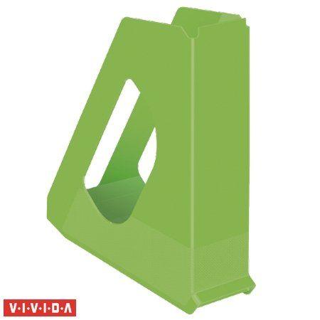 """Zakladač, plastový, 68 mm, ESSELTE """"Europost"""", Vivida zelený"""
