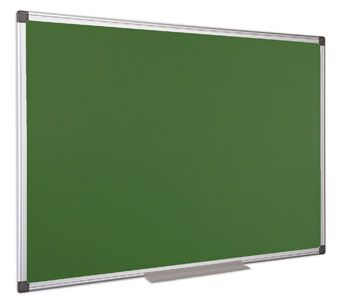 Zelená tabuľa popisovateľná kriedou, 100 x 150 cm