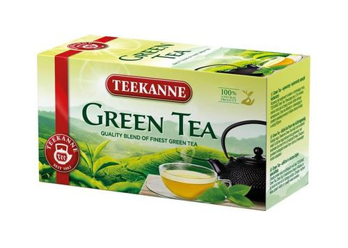 Zelený čaj, 20x1,75 g, TEEKANNE
