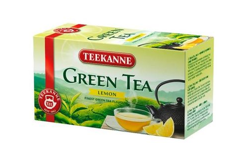 Zelený čaj, 20x1,75 g, TEEKANNE, citrónový