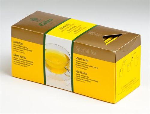 """Zelený čaj, 25x1,7g, EILLES """"Asian sun"""""""