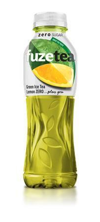 Zelený ľadový čaj, 0,5 l, FUZE TEA ZERO, zelený čaj-citrón